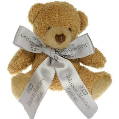 Picture of 8CM TUBBY BEAR with Bow