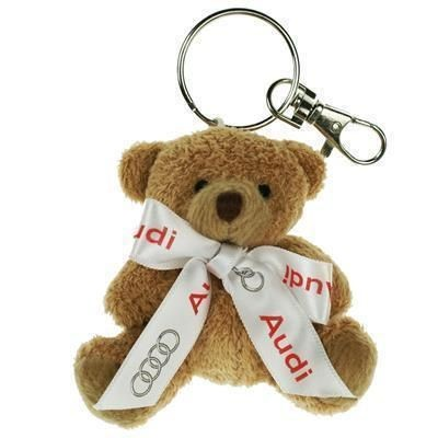 Picture of 8CM TUBBY KEYRING BEAR with Bow