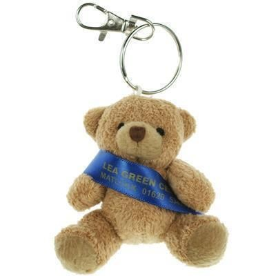 Picture of 8CM TUBBY KEYRING BEAR with Sash