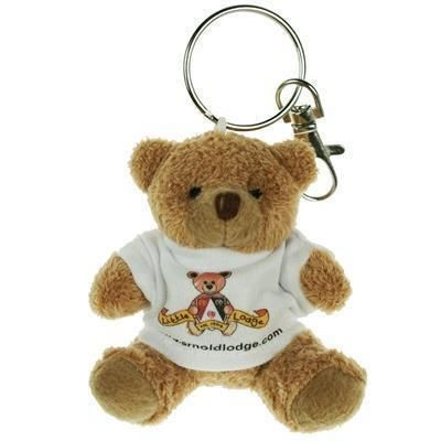 Picture of 8CM TUBBY KEYRING BEAR with Tee Shirt