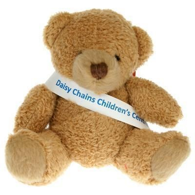 Picture of 8CM TUBBY BEAR with Sash