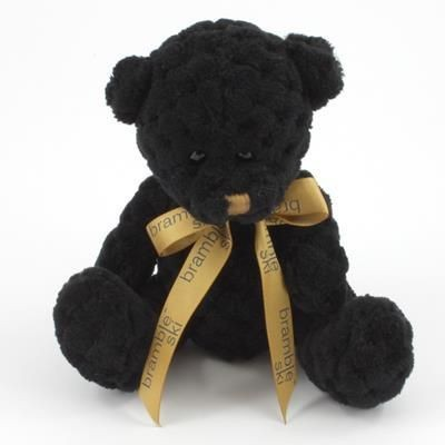 Picture of 15CM BOW COAL WAFFLE BEAR