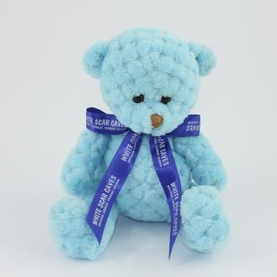Picture of 15CM BOW SKY WAFFLE BEAR