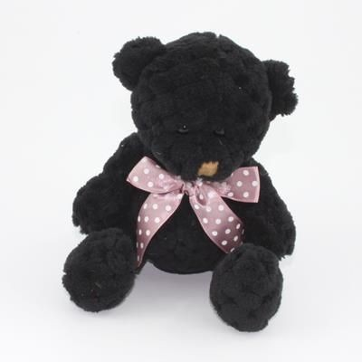 Picture of 15CM PLAIN  COAL WAFFLE BEAR