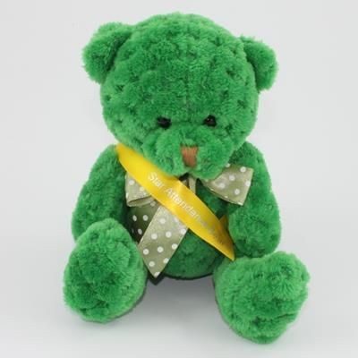 Picture of 15CM SASH KELLY WAFFLE BEAR