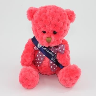 Picture of 15CM SASH WATERMELON WAFFLE BEAR