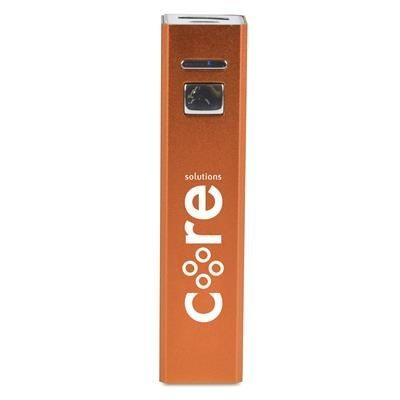 Picture of STANDARD CUBOID POWER BANK in Amber