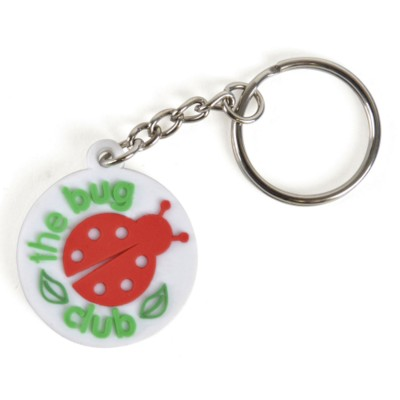 Picture of SMALL PVC KEYRING
