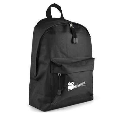 Picture of ROYTON BACKPACK RUCKSACK in Black