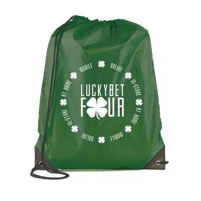Picture of PEGASUS PLUS DRAWSTRING BAG in Dark Green