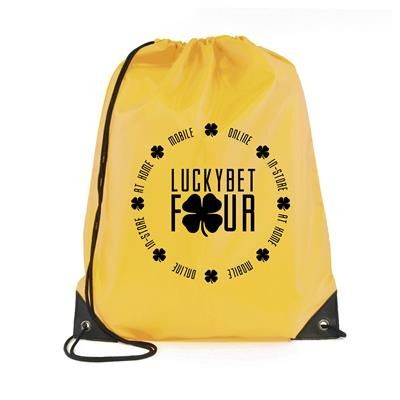 Picture of PEGASUS PLUS DRAWSTRING BAG in Yellow