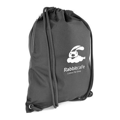 Picture of DALTON DRAWSTRING BAG in Black