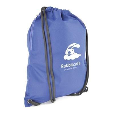Picture of DALTON DRAWSTRING BAG in Blue