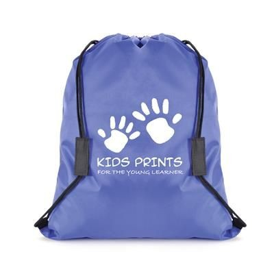 Picture of SAFETY BREAK DRAWSTRING BAG in Blue
