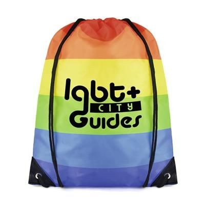 Picture of RAINBOW DRAWSTRING BAG