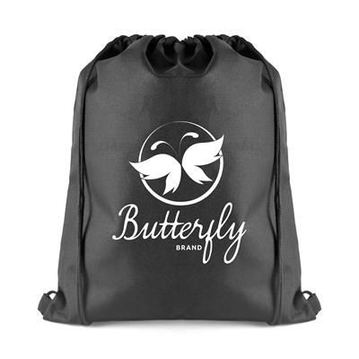 Picture of OLLIE DRAWSTRING BAG in Black