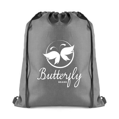 Picture of OLLIE DRAWSTRING BAG in Grey