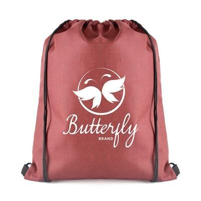 Picture of OLLIE DRAWSTRING BAG in Red