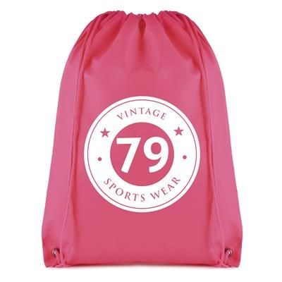 Picture of ROTHY DRAWSTRING BAG in Pink