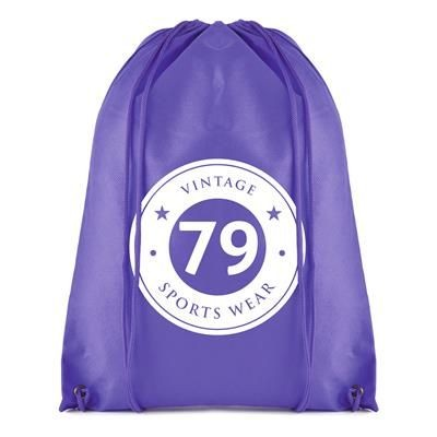 Picture of ROTHY DRAWSTRING BAG in Purple