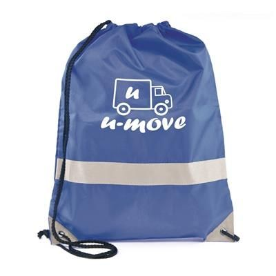 Picture of CELSIUS DRAWSTRING BAG in Blue