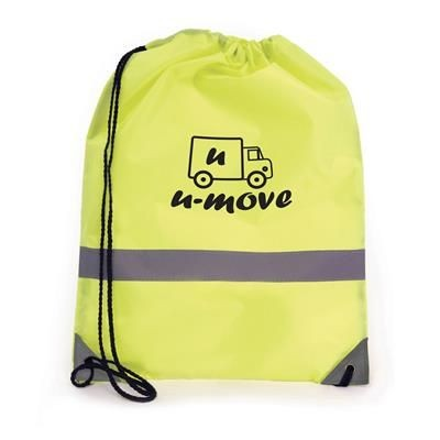 Picture of CELSIUS DRAWSTRING BAG in Yellow