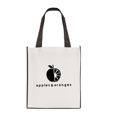 Picture of LARGE CONTRAST SHOPPER in Black