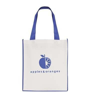Picture of LARGE CONTRAST SHOPPER in Blue
