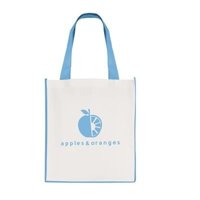 Picture of LARGE CONTRAST SHOPPER in Cyan