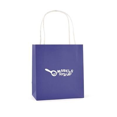Picture of BRUNSWICK SMALL PAPER BAG in Blue