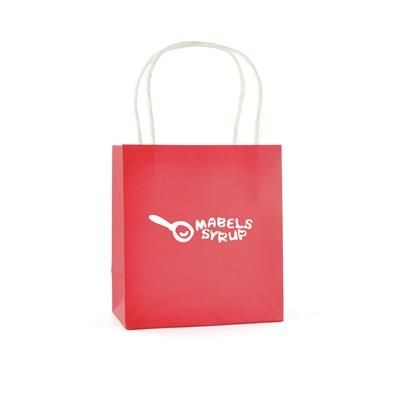 Picture of BRUNSWICK SMALL PAPER BAG in Red