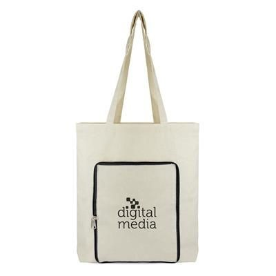 EarthAware Organic Eco Friendly Cotton Canvas Marina Tote Shopper Beach Bag