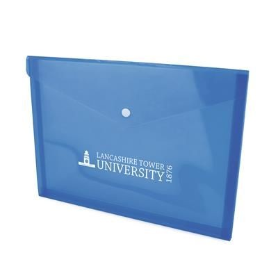 Picture of HYDE DOCUMENT FOLDER in Blue