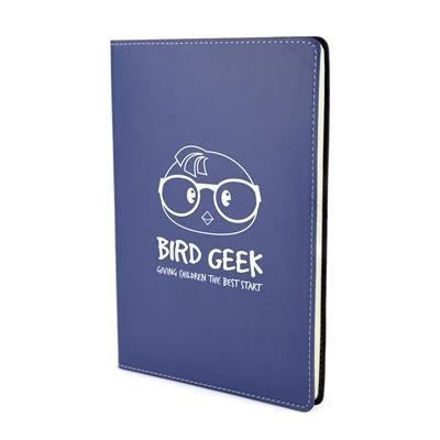 Picture of STITCH EDGE NOTE BOOK in Navy Blue