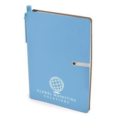 Picture of A6 HALIFAX NOTE BOOK in Cyan