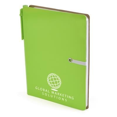 Picture of A6 HALIFAX NOTE BOOK in Green