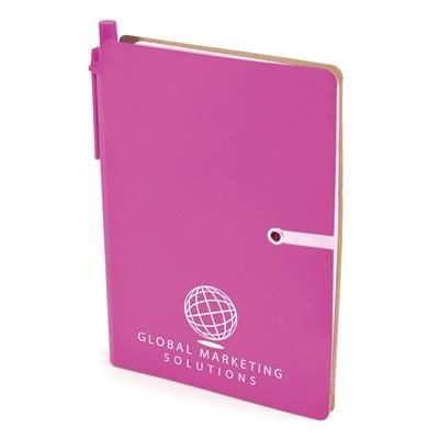Picture of A6 HALIFAX NOTE BOOK in Pink