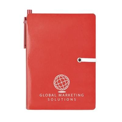 Picture of A6 HALIFAX NOTE BOOK in Red