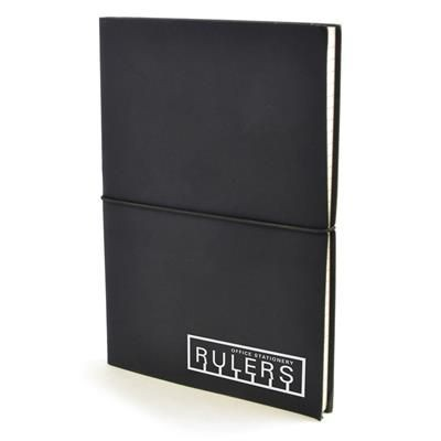 Picture of A5 CENTRE NOTEBOOK in Black