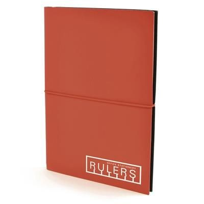 Picture of A5 CENTRE NOTEBOOK in Red