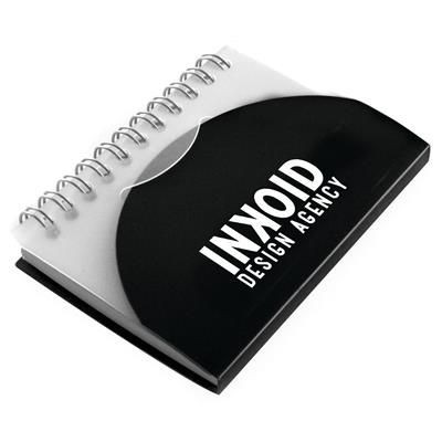 Picture of A7 SPIRAL NOTE BOOK in Black