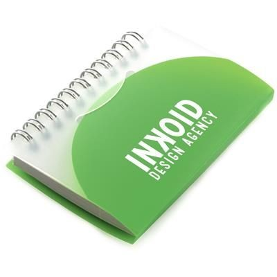 Picture of A7 SPIRAL NOTE BOOK in Green
