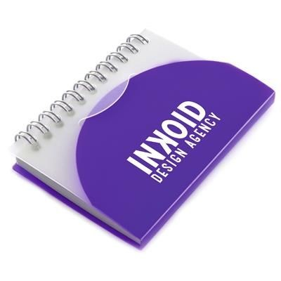 Picture of A7 SPIRAL NOTE BOOK in Purple