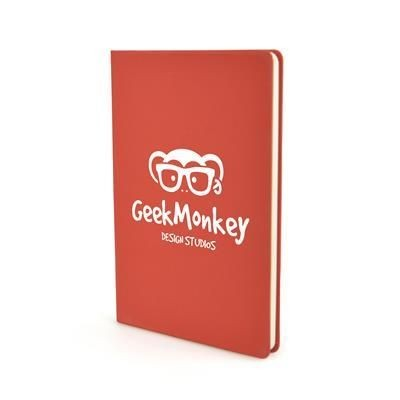 Picture of A5 MOLE NOTE BOOK LITE in Red