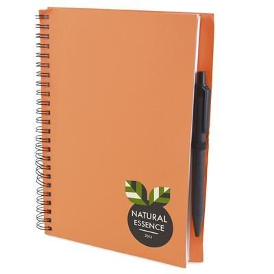 Picture of A5 INTIMO NOTE BOOK in Amber