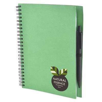 Picture of A5 INTIMO NOTE BOOK in Green