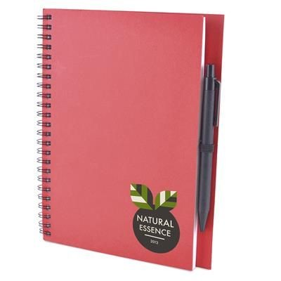 Picture of A5 INTIMO NOTEBOOK in Red
