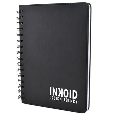 Picture of A5 SALERNO NOTE BOOK in Black