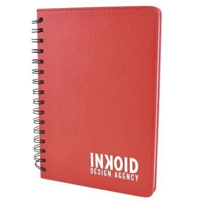 Picture of A5 SALERNO NOTE BOOK in Red