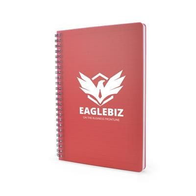 Picture of A5 REYNOLDS NOTE BOOK in Red